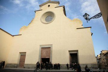 La chiesa di Santo Spirito è una delle location più belle per un matrimonio di inverno a Firenze