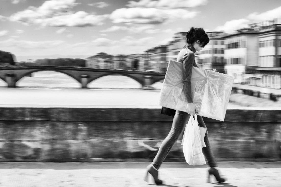 Fotografia di David Glauso con vista del Ponte Vecchio
