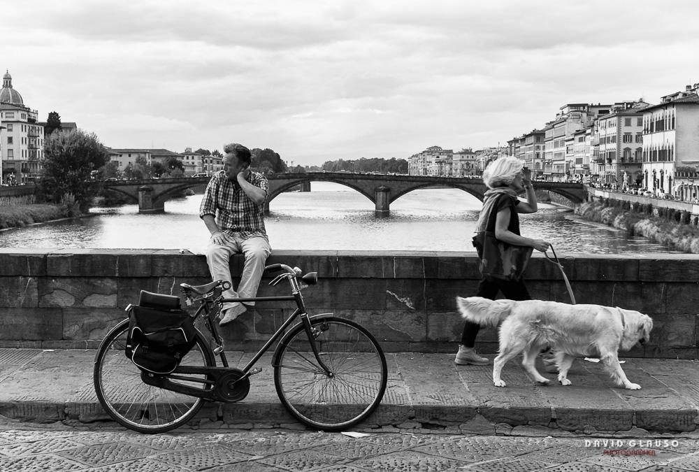 Momenti di vita Ponte Santa Trinita - ph David Glauso Fotografo