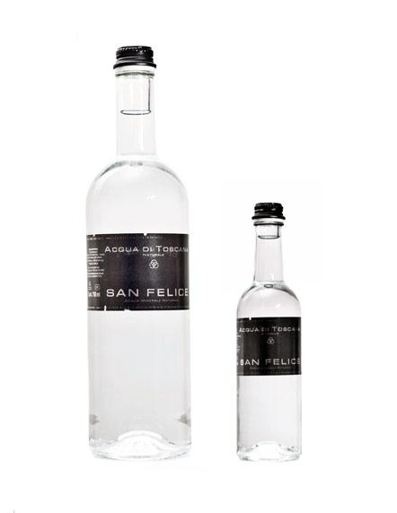L' Acqua San Felice è l'acqua toscana per eccellenza. Nasce all'Abetone, Pistoia, è oligominerale, ipotonica ed ha proprietà diuretiche.
