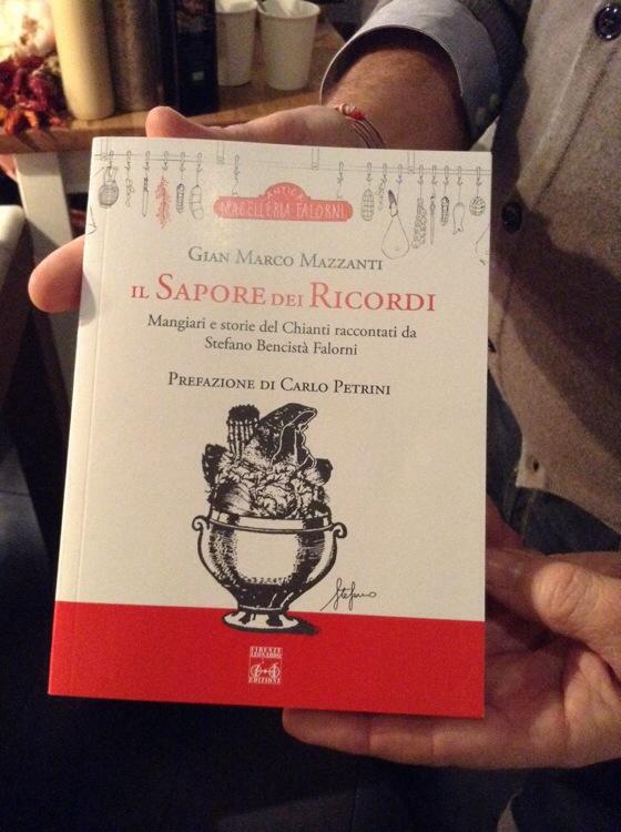 Il sapore dei ricordi, il nuovo libro di ricette toscane con Stefano Falorni, di Gian Marco Mazzanti