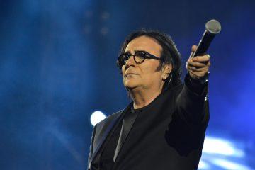 Il cantante italiano Renato Zero