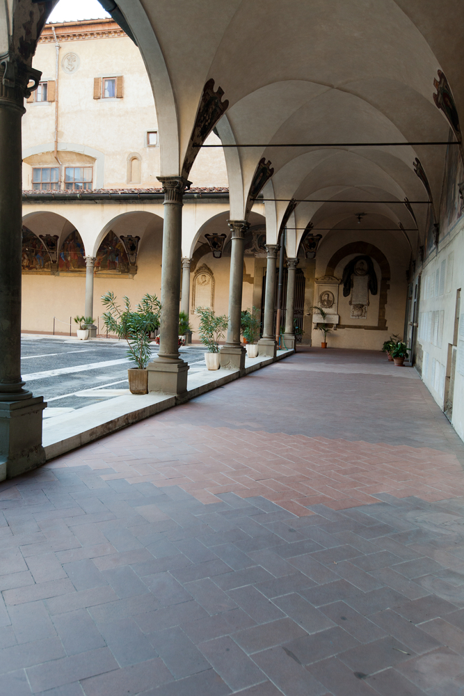 La Basilica fiorentina di Santissima Annunziata ospita un'importante opera del Rosso Fiorentino