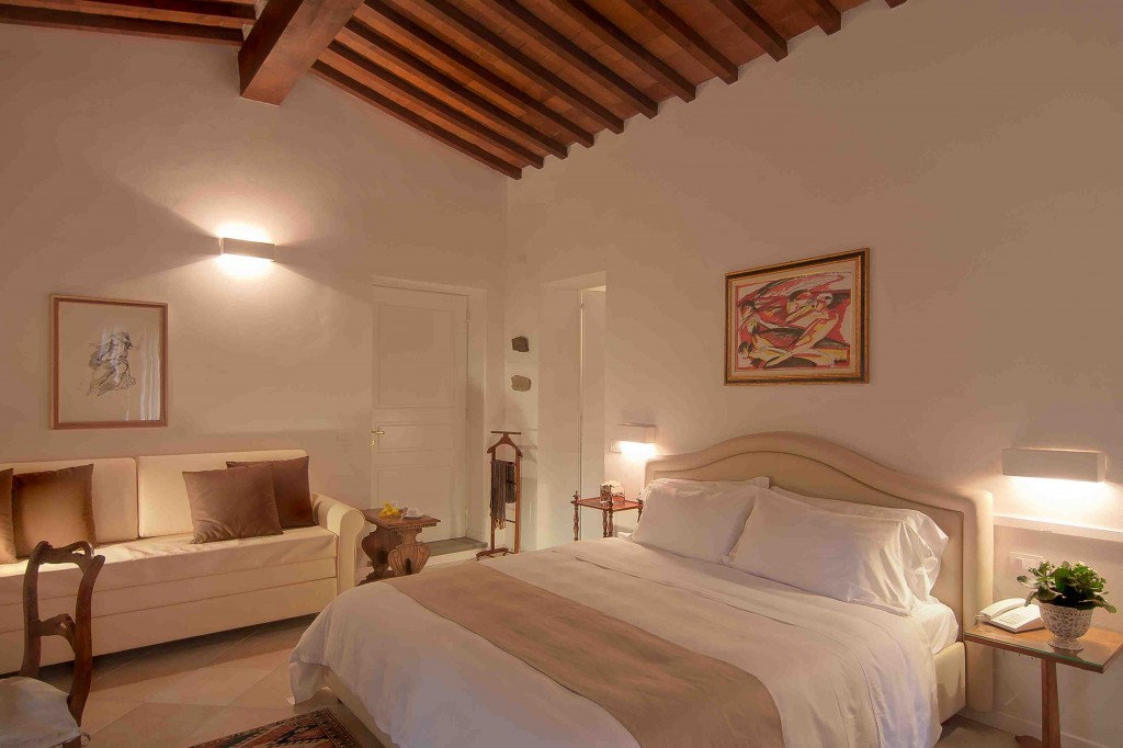 Villa i barronci country luxury resort in toscana - Stanze da letto da sogno ...