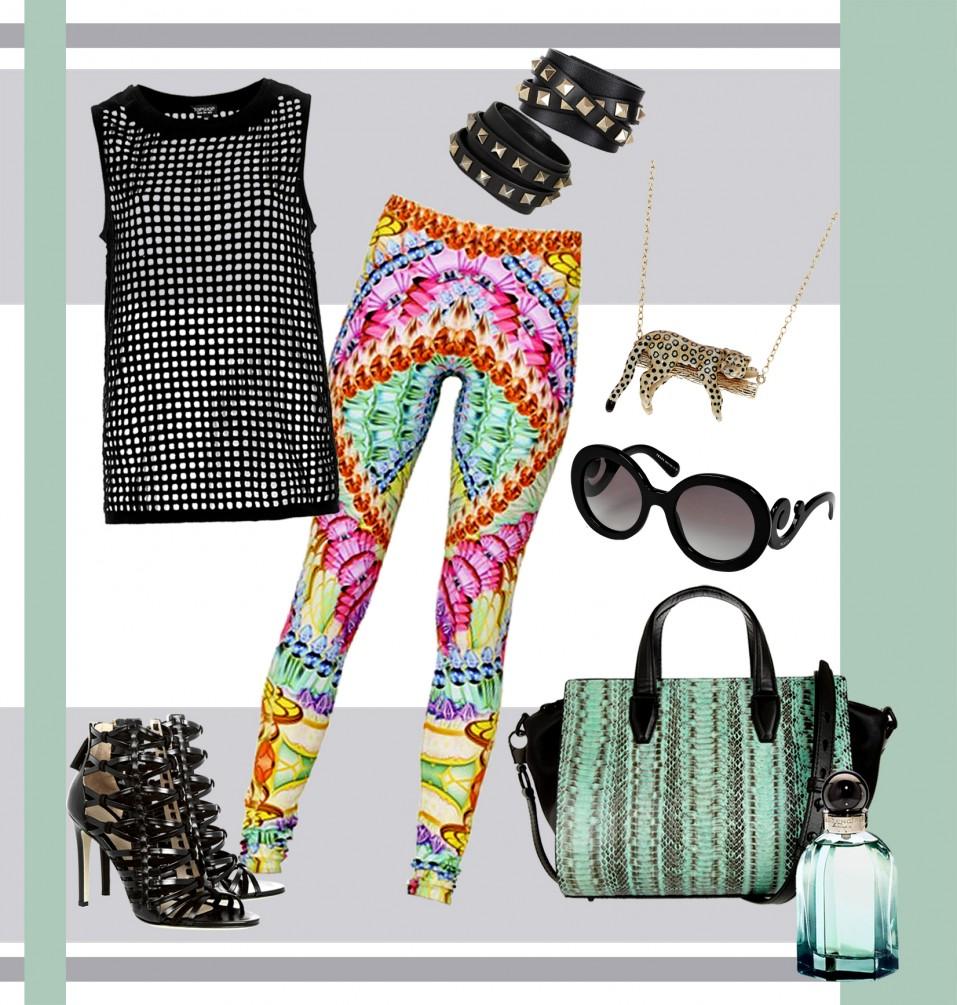 Gli abiti a rete sono il must di questa primavera estate 2014