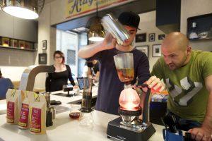Francesco Sanapo, proprietario di Ditta Artigianale caffè a Firenze