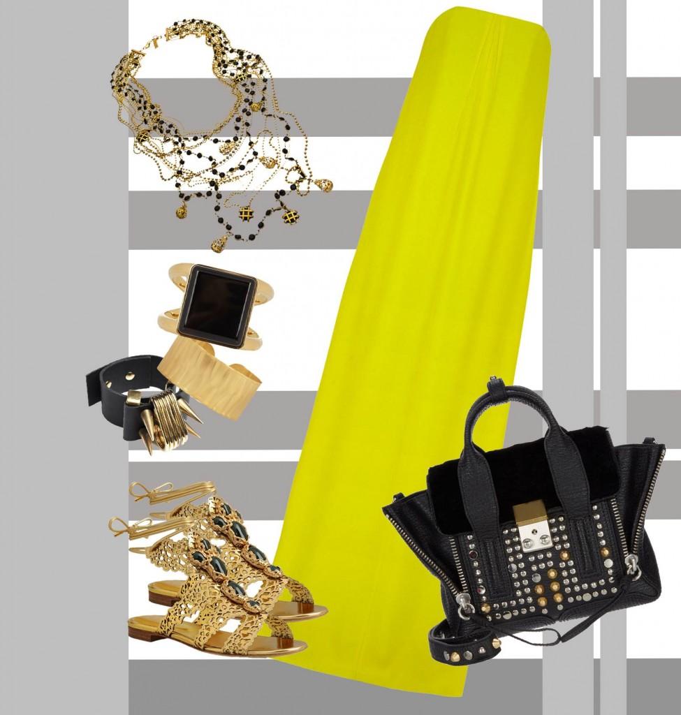 La nostra fashion designer Rossella Cannone ci parla del giallo, colore moda 2014 e degli outfit estate 2014