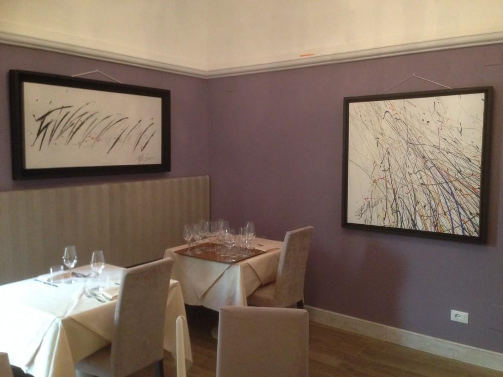 Il ristorante Zibibbo 2.0 a Firenze ospita una mostra personale dell'artista cinese Sun Lian Gang,considerato uno dei massimi pittori astratti contemporanei
