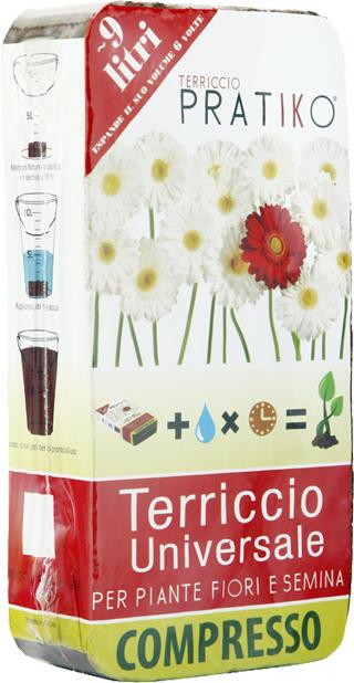 Il terriccio Pratiko è un'idea di Jacopo Mei