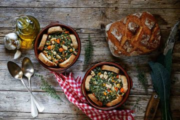 La ribollita è un piatto della cucina tipica fiorentina