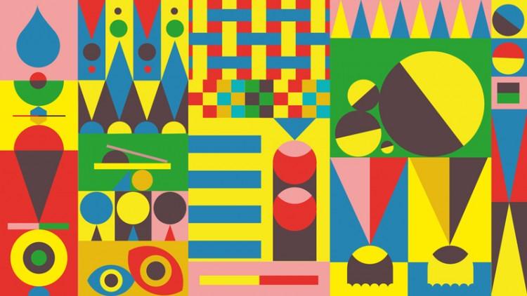 Pattern, Jonathan Calugi grafico nuovo Mercato Centrale di Firenze