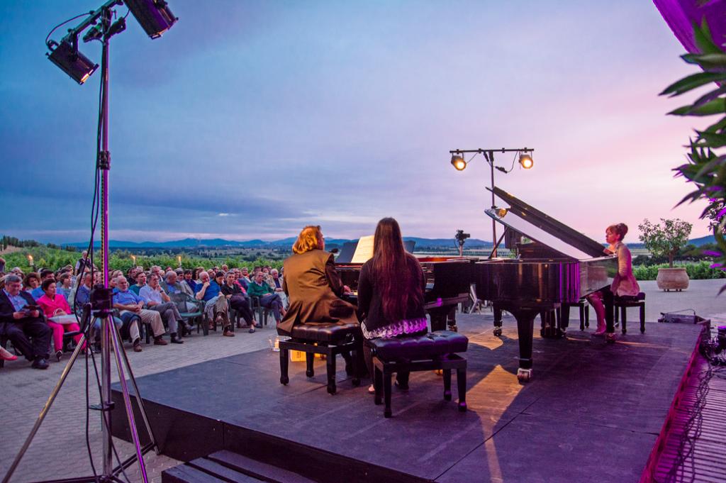 Melodia del Vino 2014 dal 26 luglio al 6 giugno: Toscana, vino e musica classica