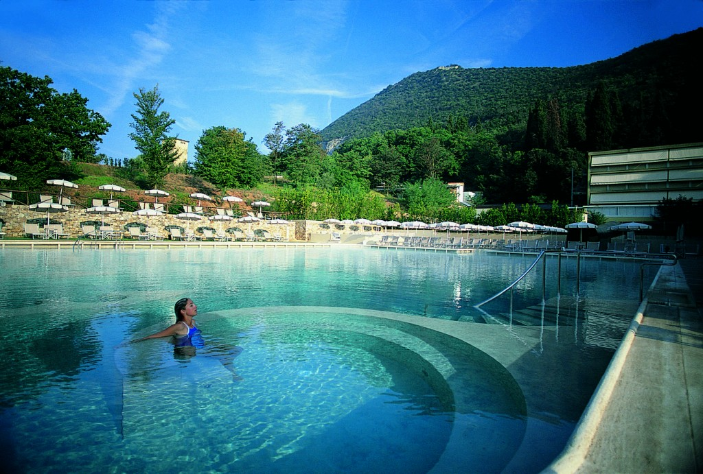 The open air thermal pool