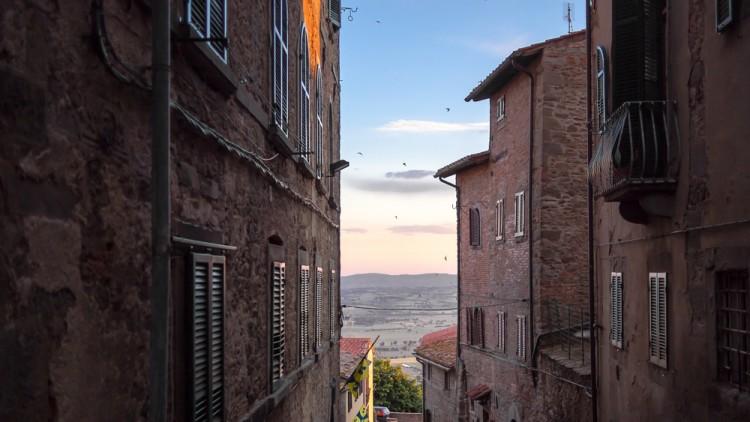 Cortona Arezzo - Vista sui tetti
