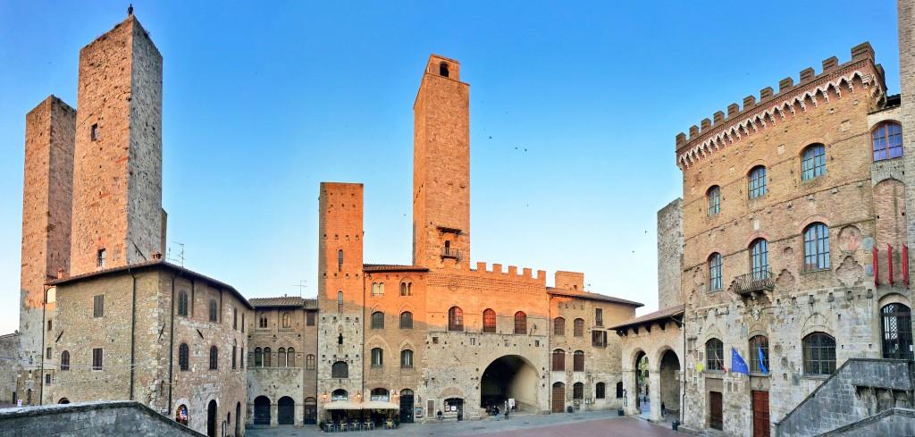 San Gimignano - Piazza del Duomo