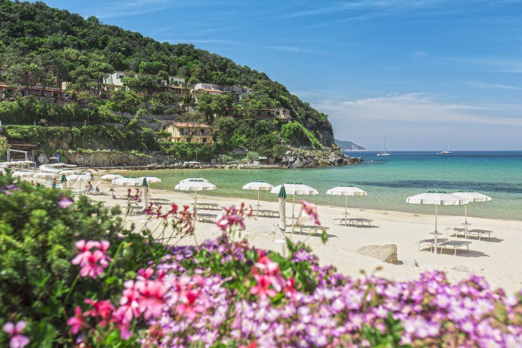 Hotel Hermitage Isola d'Elba - Toscana - Italia - Spiaggia della Biodola