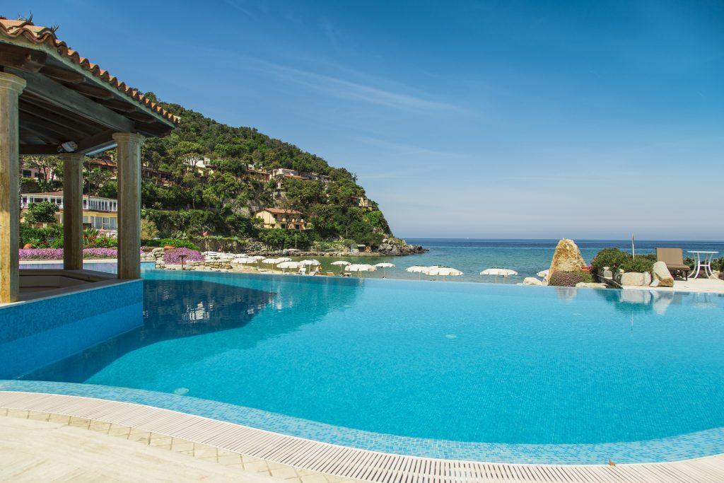 Hotel Hermitage, esclusivo relais di lusso in Toscana, Isola d'Elba, Golfo di Biodola