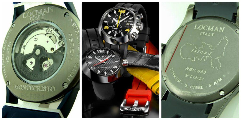 Locman: eccellenza tecnologica nell'orologeria Made in Italy. Dal 1986 Locman produce orologi, borse e occhiali high quality all'Isola d'Elba