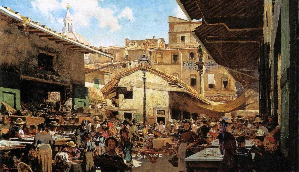 Mercati tipici a Firenze: Mercato di Sant'Ambrogio