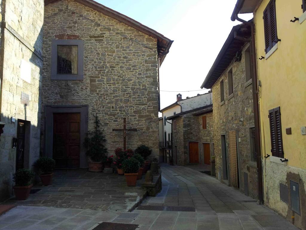 Moggiona è l'antico borgo del Casentino, Toscana, dove è nata l'arte dei bigonai