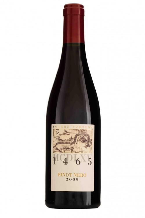 """""""1465"""" è il Pinot Nero del Podere Fortuna che ha vinto i """"Tre Bicchieri 2015"""" della guida del Gambero Rosso"""