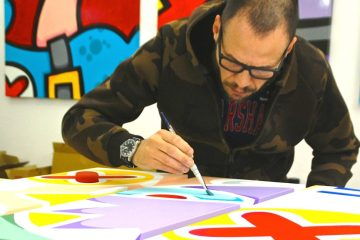 Aleandro Roncarà, Pop Art Made in Tuscany è un giovane artista toscano: murales, quadri, gadgets e installazioni