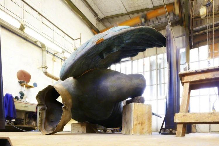 """A Pisa """"Angeli"""" la mostra dell'artista Igor Mitoraj è stata prolungata fino al 12 aprile"""