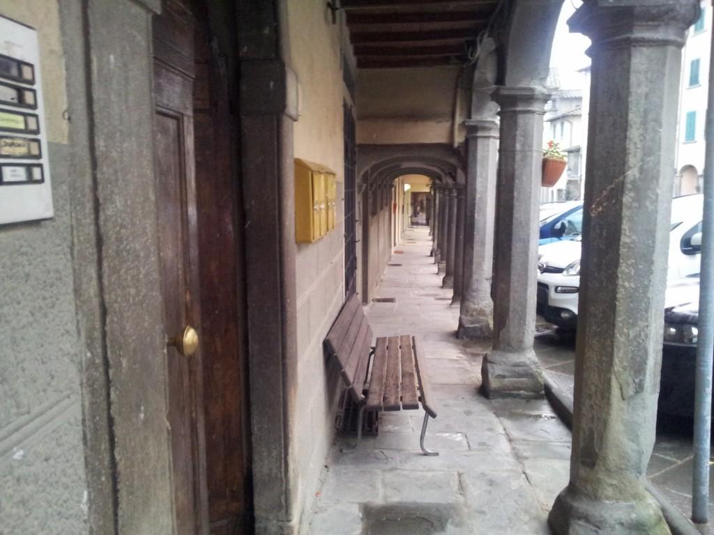 Piazza Tanucci è la piazza principale di Stia, Arezzo, set del film di Pieraccioni Il Ciclone