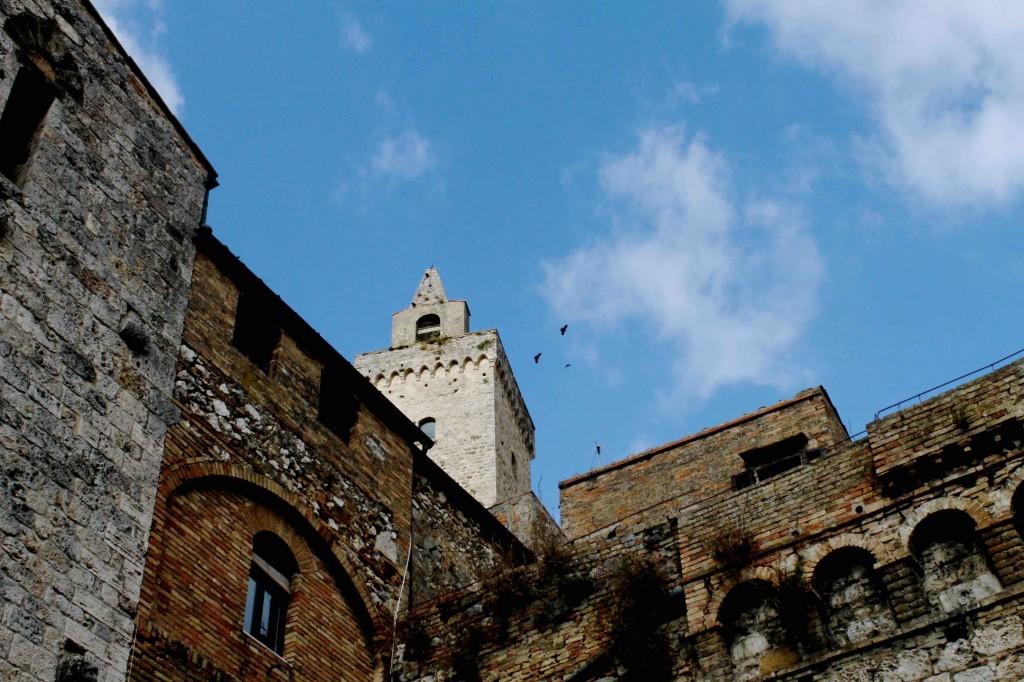 San Gimignano è famosa per le torri,ma in realtà offre molto di più: giardini nascosti,antiche cantine,la mostra fotografica di Erwitt