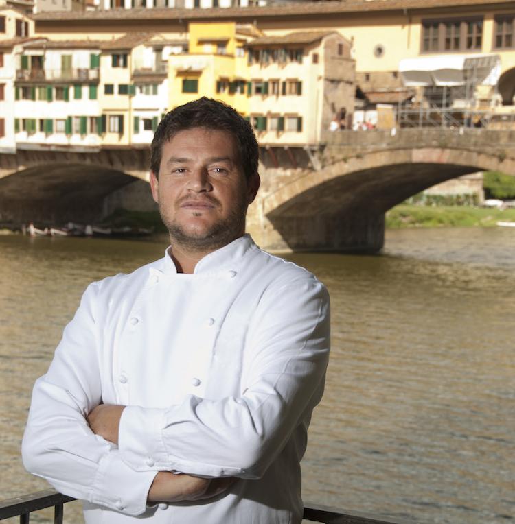peter Brunel fino al 2019 è stato lo chef del Caffè dell'Oro a Firenze