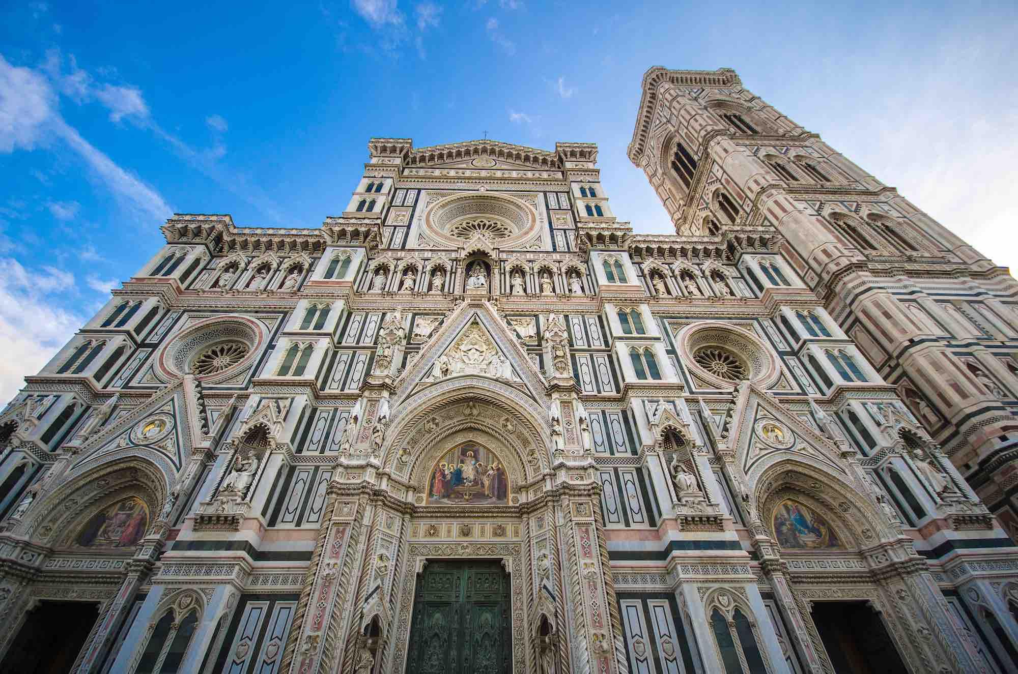 Facciata del Duomo di Firenze e Campanile di Giotto