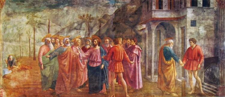 Cappella Brancacci Masaccio Cappella Brancacci - il tributo