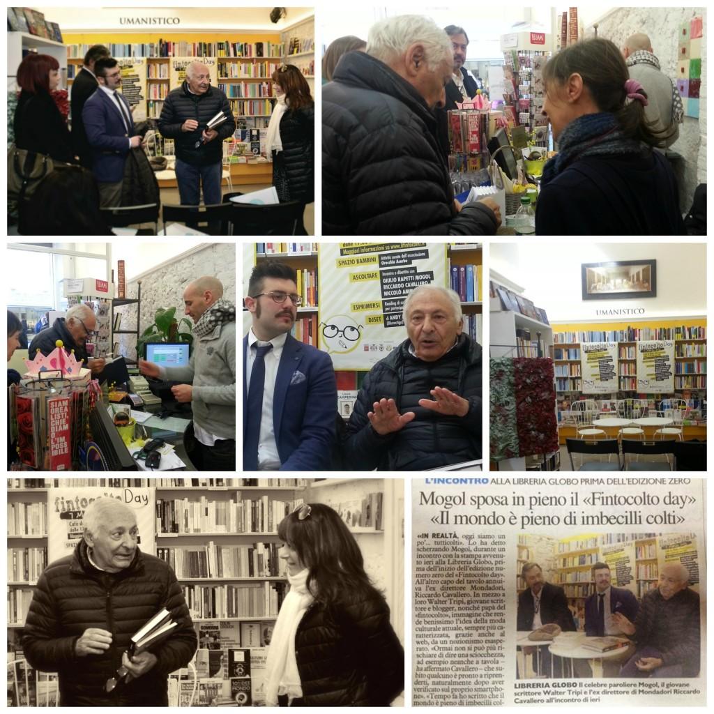 Incontro con Mogol alla Libreria il Globo a Pistoia in occasione del FintoColto Day