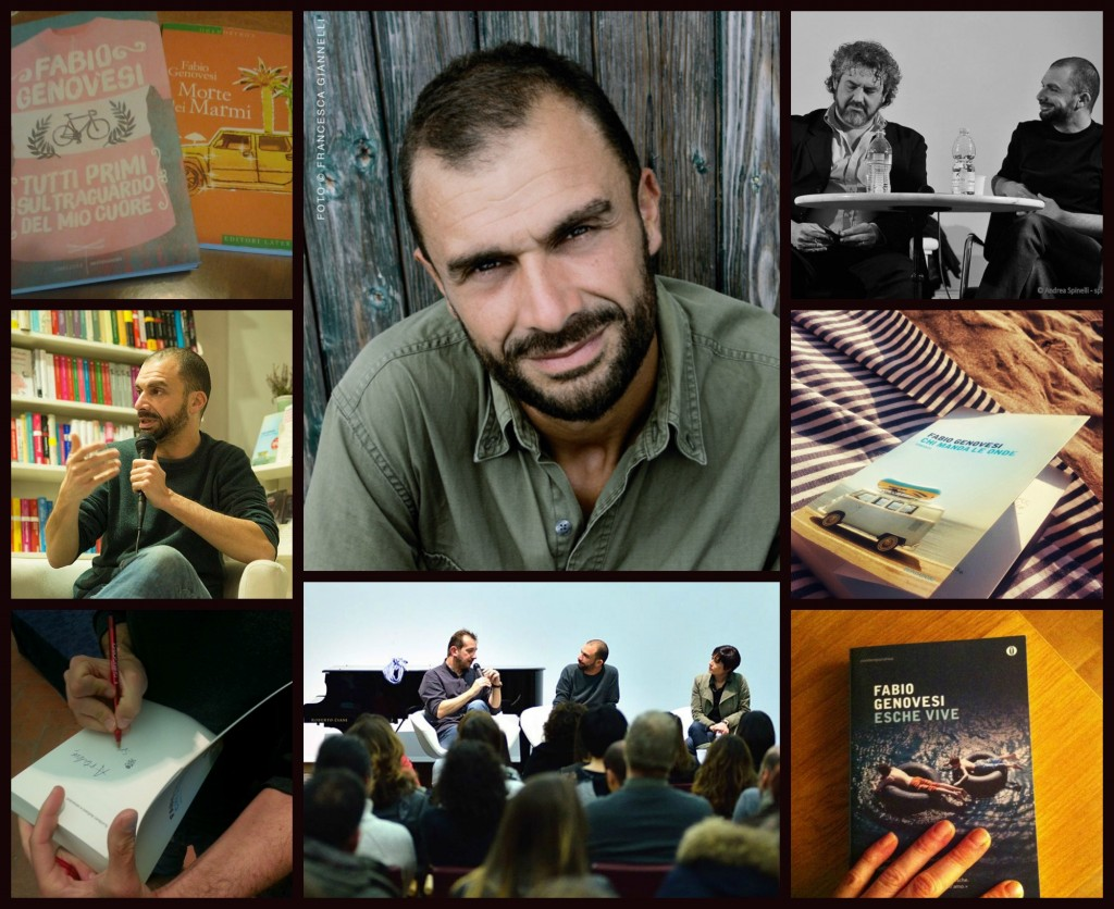 Incontro con Fabio Genovesi, candidato al Premio Strega 2015, giovane scrittore toscano che gira l'Italia presentando il sui nuovo libro: Chi Manda Le Onde