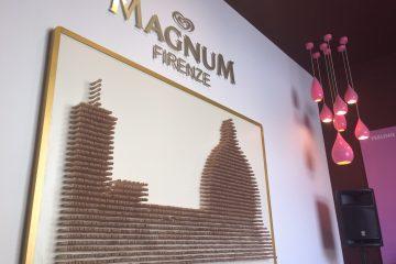 In piazza Duomo a Firenze il primo monomarca Algida: il Magnum Firenze Store ospita una boutique dove costruirsi il proprio gelato tra granelle e farciture