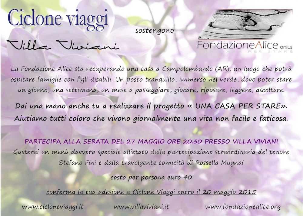 Invito evento FondazioneAlice