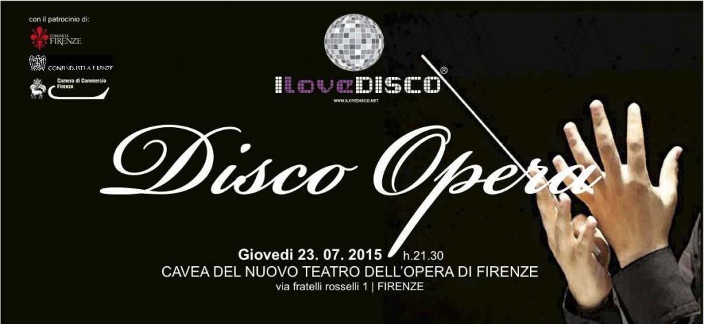 I Love Disco invito