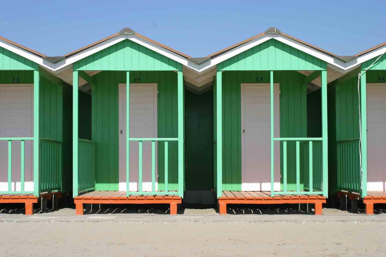 A tavola sulla spiaggia dalla toscana a le cirque di new york for Planimetrie della cabina della spiaggia