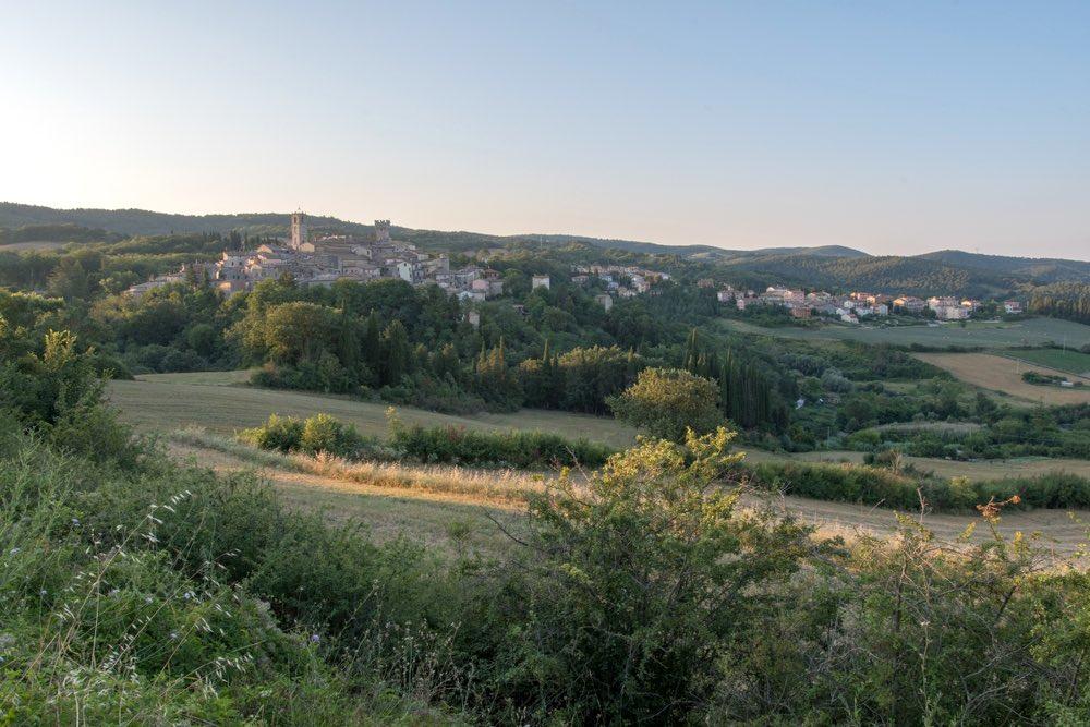 San Casciano dei Bagni è un borgo toscano in provincia di Siena