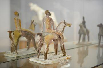 Opera dell'artista Marino Marini presso museo Marino Marini Pistoia