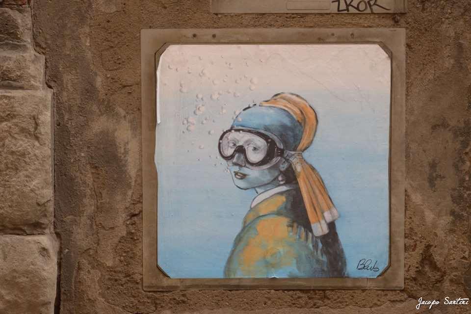 Blub - Street art a Firenze