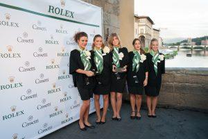 Cassetti Boutique Rolex è il nuovo store monomarca della casa svizzera di orologi di lusso, che ha inaugurato la boutique su Ponte Vecchio a Firenze il 23/9