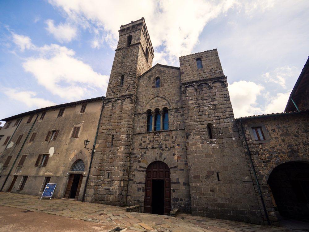 Abbadia San Salvatore si trova sul monte Amiata in Toscana