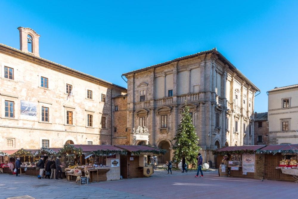 Montepulciano: il mercato di Natale