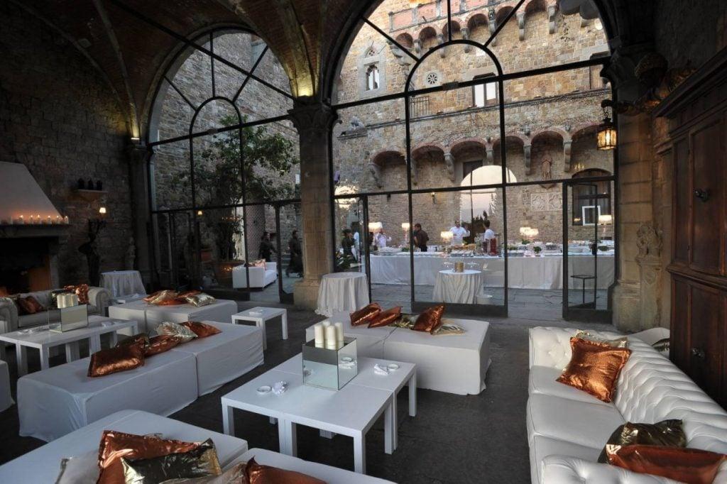 Castello di vincigliata matrimonio medievale con vista for Giardino orticoltura firenze aperitivo