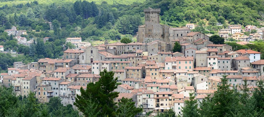 Sul Monte Labbro, in Toscana, vicino al Monte Amiata, le coccinelle vanno in letargo da ottobre a primavera, dando vita a un raro fenomeno da osservare