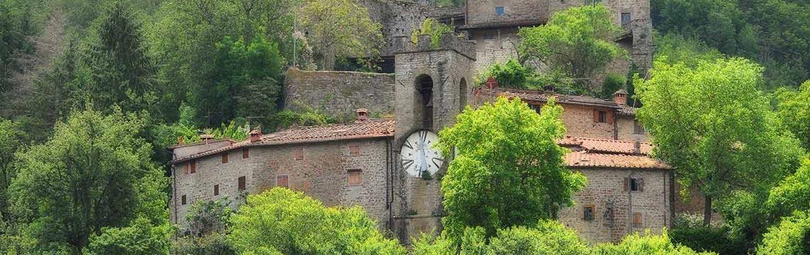 Castel San Niccolò è uno dei borghi del Casentino in Toscana