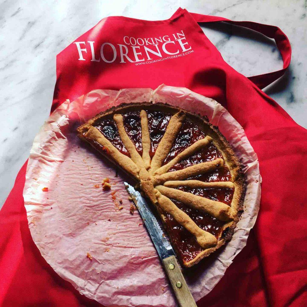 Crostata con marmellata di Laura di mele cotogne 2