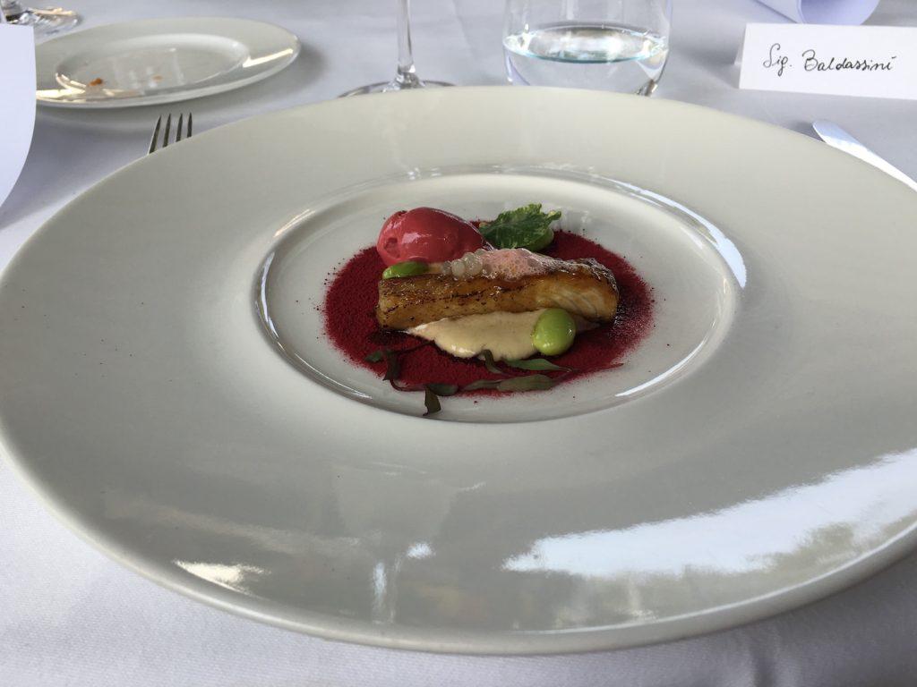 Cristoforo Trapani, chef del Ristorante Magnolia, una stella Michelin dell'Hotel Byron a Forte dei Marmi.