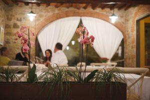 Il Ristorante Il Cavaliere al Castello di Gabbiano, a Mercatale in Val di Pesa, racchiude tesori culinari country chic nelle colline del Chianti Classico